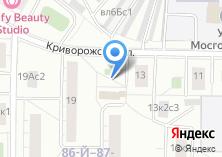 Компания «Магазин мясной продукции на Криворожской» на карте