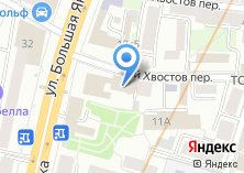 Компания «АистСтрахование» на карте