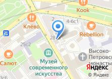 Компания «Храм Покрова Пресвятой Богородицы в бывшем Высоко-Петровском монастыре» на карте
