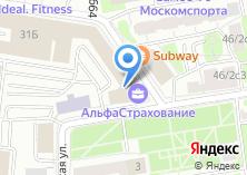 Компания «Zarplata.ru» на карте