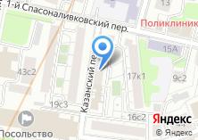 Компания «Рекстром-М» на карте