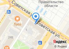 Компания «Магазин посуды на Советской» на карте