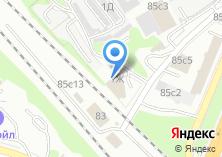 Компания «Автосервис на Новомосковской» на карте