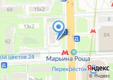 Компания «Абодье» на карте