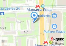 Компания «ЕИРЦ района Марьина Роща» на карте