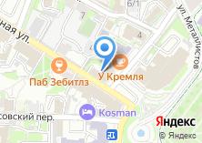 Компания «Новикомбанк Тульский филиал» на карте