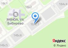 Компания «Гаражный комплекс Бибирево» на карте