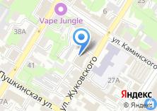 Компания «Строящееся административное здание по ул. Жуковского» на карте