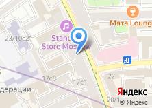 Компания «Рай на Петровке» на карте