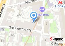 Компания «Онегинъ» на карте