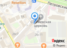Компания «Тверское» на карте