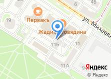 Компания «Аглона» на карте