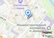 Компания «Тульская дезинфекционная станция» на карте