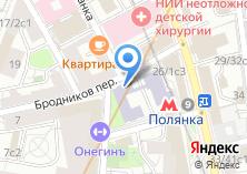 Компания «Гуманитарный институт телевидения и радиовещания им. М.А. Литовчина» на карте