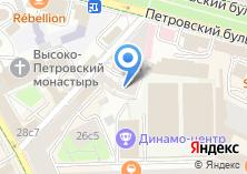 Компания «Доверие Лизинг» на карте