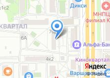 Компания «ЕИРЦ Нагорного района» на карте