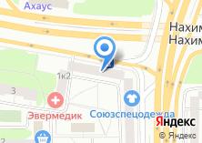 Компания «Мосценникторг» на карте