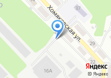 Компания «Хомяковский хладокомбинат» на карте