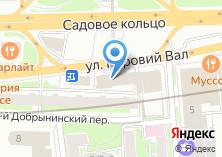 Компания «Московский фондовый центр» на карте