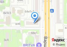 Компания «КБ СДМ-БАНК» на карте
