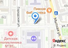 Компания «Магазин автозапчастей на ул. Лестева» на карте