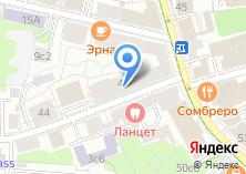 Компания «Инфокоммуникационный Союз» на карте