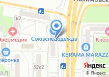 Компания «Мезон» на карте