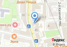 Компания «Горизонт Лайн» на карте