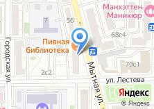 Компания «ORCHID NAILS» на карте