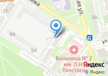 Компания «Солнечный город» на карте