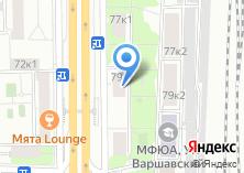 Компания «Магазин продуктов на Варшавском шоссе» на карте