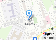 Компания «Юность» на карте
