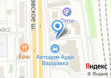 Компания «Автогарант 2000» на карте