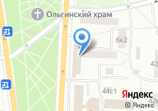Компания «Аквариант» на карте