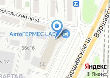 Компания «Техцентр Renault на Варшавском шоссе» на карте