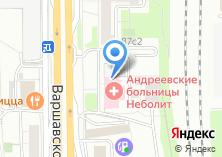 Компания «Андреевские больницы» на карте