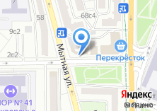 Компания «Магазин автозапчастей на Люсиновской» на карте