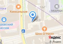 Компания «ZARA» на карте
