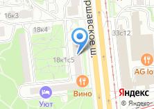 Компания «Цветочный магазин на Варшавском шоссе» на карте