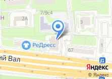 Компания «Всероссийский банк развития регионов» на карте