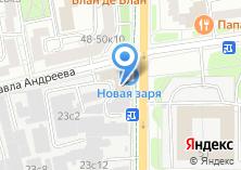 Компания «Миля» на карте