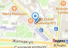 Компания «Сплетница» на карте