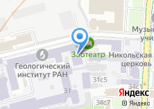 Компания «Реднор» на карте