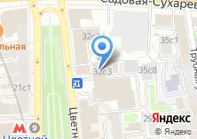 Компания «Ювелирная мастерская на Цветном бульваре» на карте