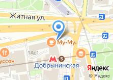 Компания «Авиакасса на ул. Коровий вал» на карте