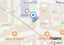 Компания «Книжная лавка архитектора» на карте