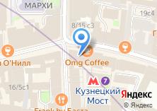 Компания «Московский Союз художников» на карте