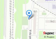 Компания «Автостоянка на Каширском проезде» на карте