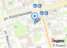 Компания «Мир Потолков» на карте