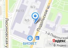 Компания «Кухни Москва» на карте